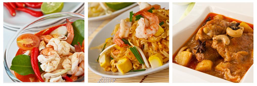lækker mad fra Thailand