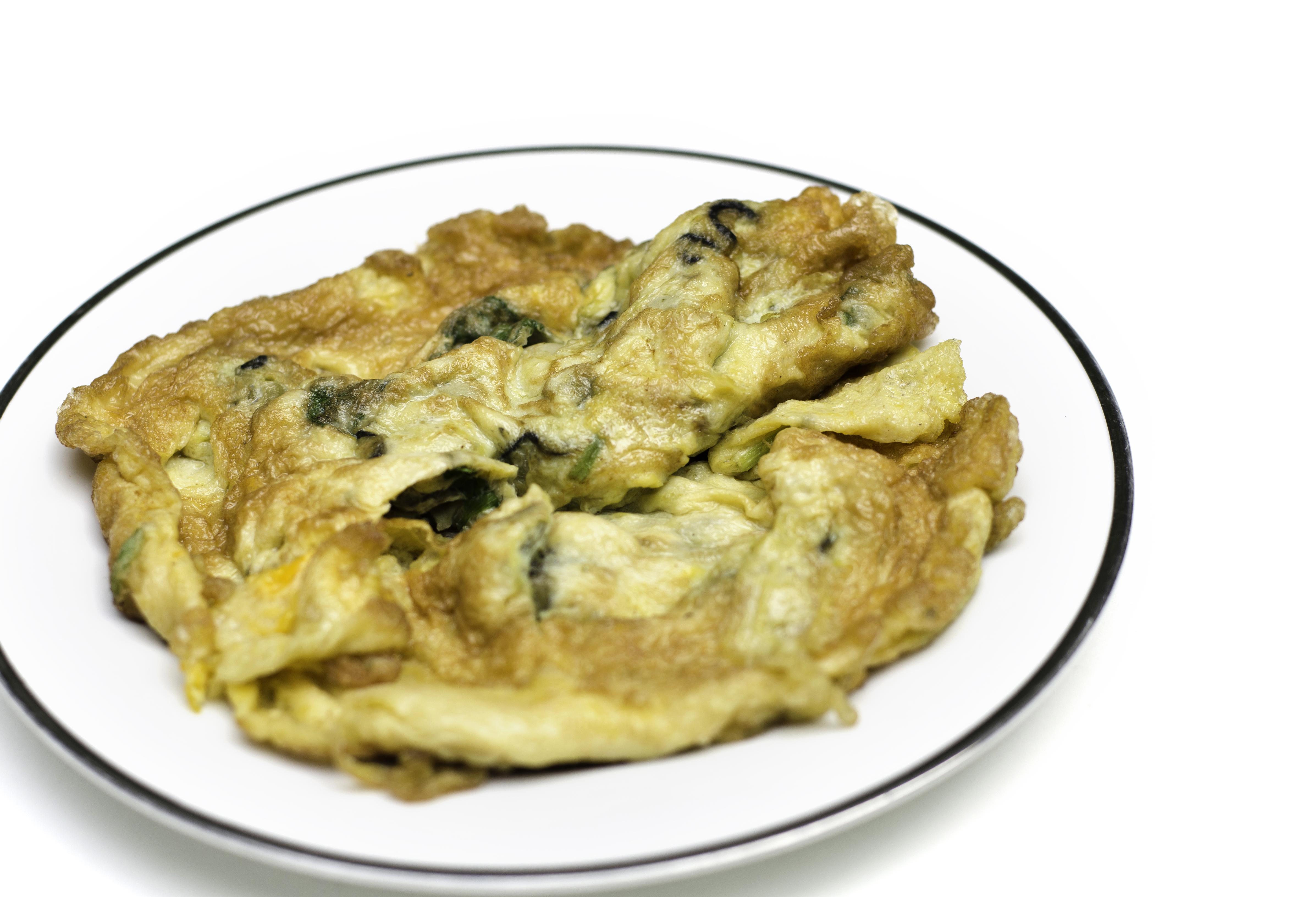 fyldt thai omelet